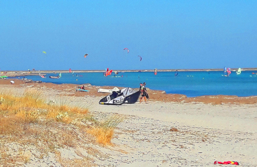 windsurf στη Λήμνο